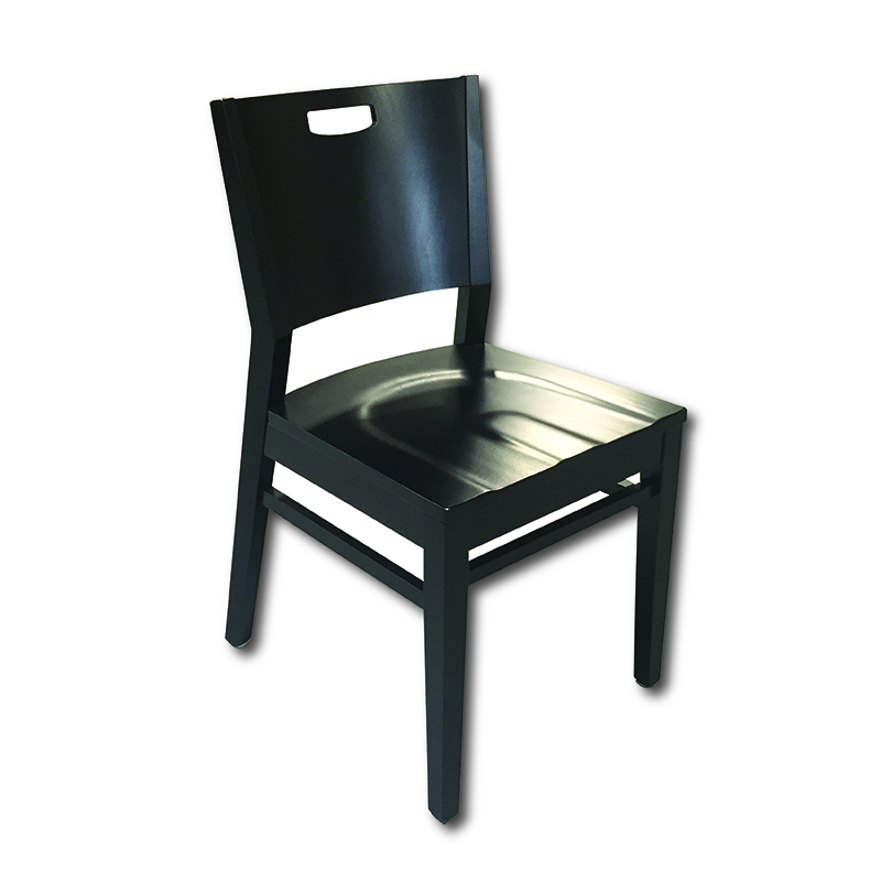 Axtrid Side Chair w/Solid Wood Seat Markham and Toronto commercial seating, Ontario