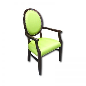 CM 671/1 Arm Chair w/Wrapped Seat & Nail Head Markham and Toronto commercial seating, Ontario