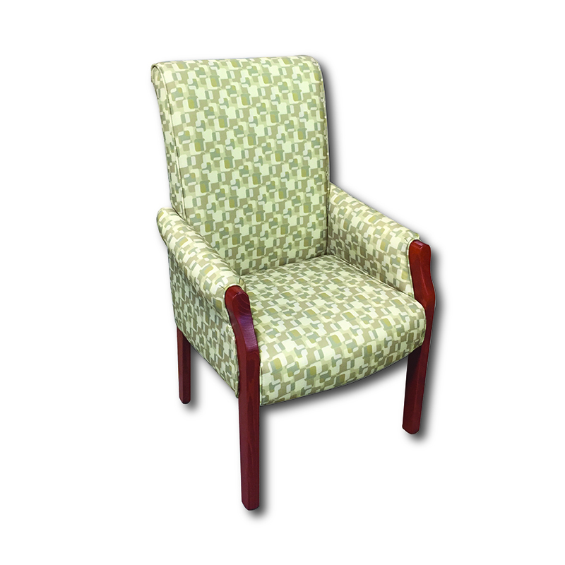 FTR 400P Patient Room High Back Arm Chair Markham and Toronto commercial seating, Ontario