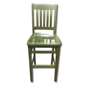 SIL 189/2 Barstool w/Solid Wood Seat Markham and Toronto commercial seating, Ontario