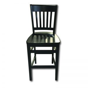 SIL 191 Barstool w/Solid Wood Seat Markham and Toronto commercial seating, Ontario