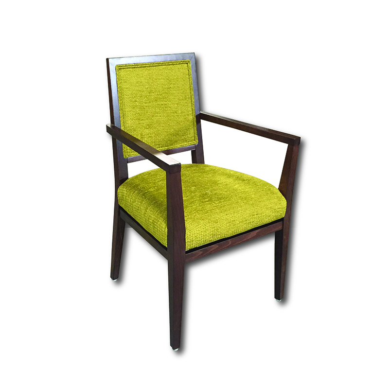 SIT 399UPH/1 Upholstered Back Arm Chair Markham and Toronto commercial seating, Ontario