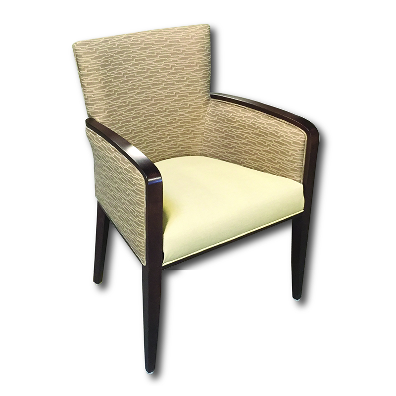 Swan Upholstered Top Arm Chair Markham and Toronto commercial seating, Ontario