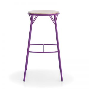 Morgana Backless Stool Markham and Toronto commercial seating, Ontario