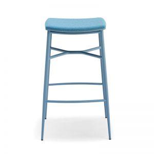 Naika-L-SG Backless Barstool Markham and Toronto commercial seating, Ontario