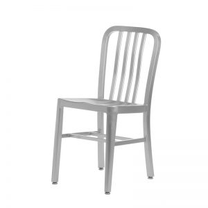 Navy Aluminum Chair Markham and Toronto commercial seating, Ontario