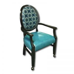 672-1 ARM CHAIR W/WRAPPED SEAT & NAIL HEAD INSIDE BACK Markham and Toronto commercial seating, Ontario