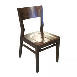 Julio Side Chair w/Solid Wood Seat Markham and Toronto commercial seating, Ontario