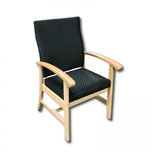 Scope High Back Arm Chair Markham and Toronto commercial seating, Ontario