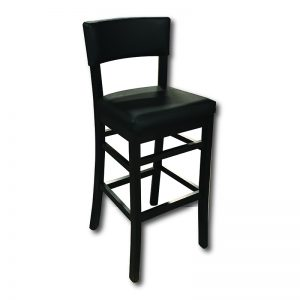 SIL 203/2 Barstool w/Upholstered Back Panel Markham and Toronto commercial seating, Ontario